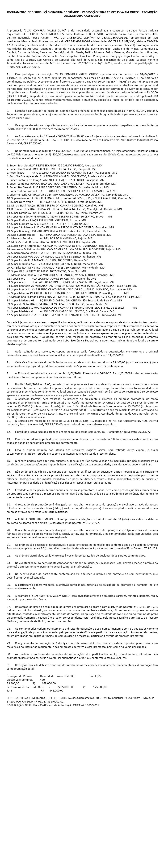 Regras do Sorteio 11.08.2016