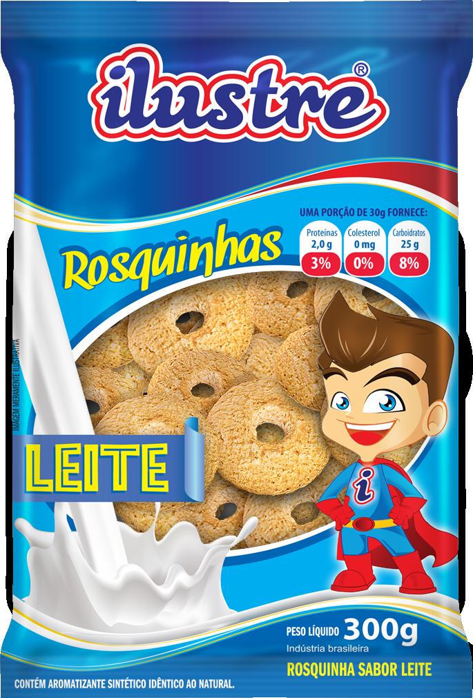Rosquinha leite - Rede Ilustre